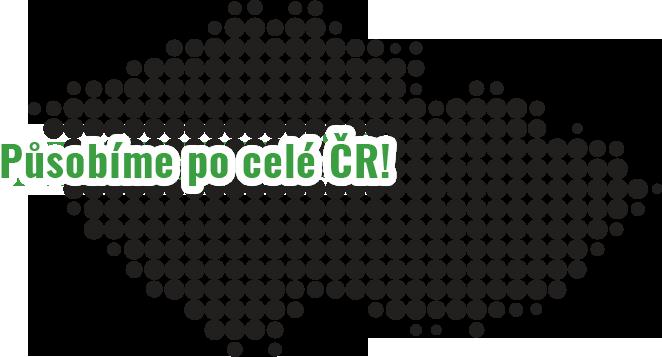 mapka ČR
